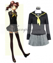 Persona 4 Rise Kujikawa School Uniform Cosplay Costume