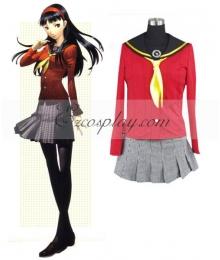 Persona 4 Yukiko Amagi School Uniform Cosplay Costume