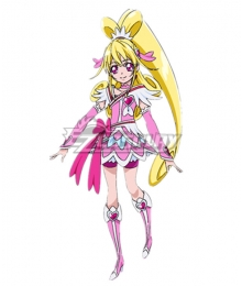 Doki Doki! Pretty Cure Heart Mana Aida Cosplay Costume