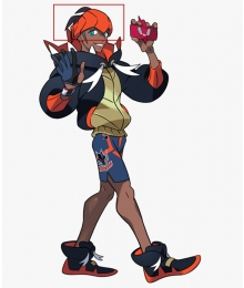 Pokemon Pokémon Sword And Shield Raihan Headband Cosplay Accessory Prop