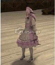 Final Fantasy 14 Neptunia Planeptune OC Cosplay Costume