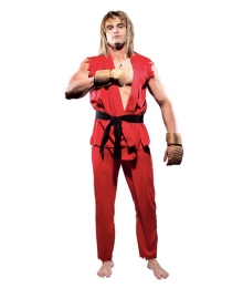 Street Fighter Ken Masters Cosplay Costume