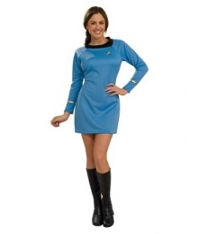 Star Trek Classic Blue Dress Deluxe Adult  Cosplay Costume