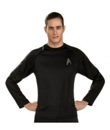 Star Trek Black Adult Undershirt