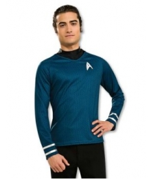 Star Trek Movie 2009 Grand Heritage Blue Shirt Adult Costume