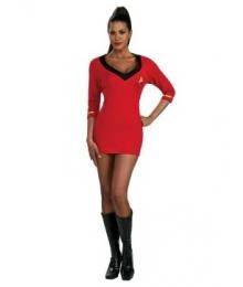 Star Trek Secret Wishes Red Dress EST0011