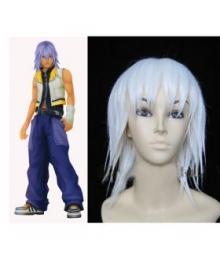 Kingdom Hearts Riku White Cosplay Wig