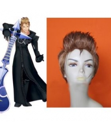 Kingdom Hearts II Organization XIII Demyx Cosplay Wig EWG0015