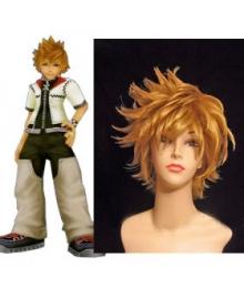 Kingdom Hearts II Roxas Cosplay Wig EWG0007