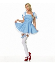 Wizard of Oz Dorothy Apron Dress Adult Costume EWO0007