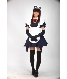 Blue Maid Cosplay Costume