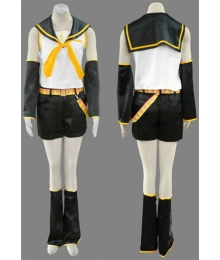 Vocaloid Kagamine Rin Cosplay Costume - C Edition