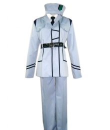 White Uniform Cosplay Costume from Axis Power Hetalia
