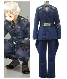 Prussia Gilbert Beilschmidt Cosplay Costume from Axis Power Hetalia