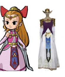 The Legend of Zelda Princess Zelda Cosplay Costume - A Edition