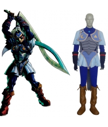 The Legend of Zelda Oni Link Cosplay Costume