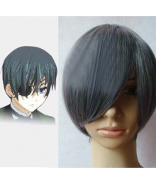 Black Butler Ciel Phantomhive gray Cosplay Wig