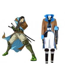 Devil Kings Sanguko Basara 2 Katakura Kagetsuna Cosplay Costume - B Edition