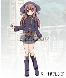 Rage of Bahamut: Manaria Friends Shingeki no Bahamut Manaria Friends Rue Cosplay Costume