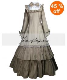 Cutton Off-white Long Sleeve Classic Lolita Dress