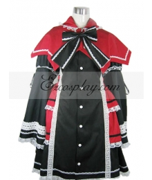 Rozen Maiden Lolita Black Cosplay Costume