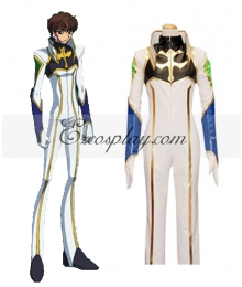 Code Geass Kururugi Driving Suit Cosplay Costume