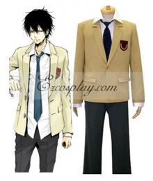 Katekyo Hitman Reborn! Namimori High School Uniform Cosplay Costume