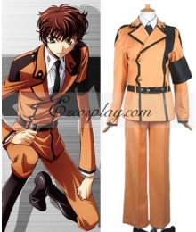 Code Geass Kururugi Suzaku Uniform Cosplay Costume