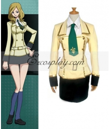 Code Geass Girl's School Uniform Cosplay Costume