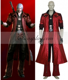 Devil May Cry 4 Dante Cosplay Costume-Size Large