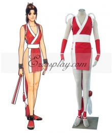 The King of Fighters' Mai Shiranui Cosplay Costume
