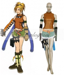 Final Fantasy X Rikku Cosplay Costume