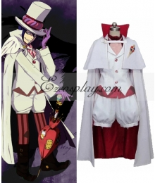 Blue Exorcist Ao no Exorcist Mephisto Pheles Cosplay Costume