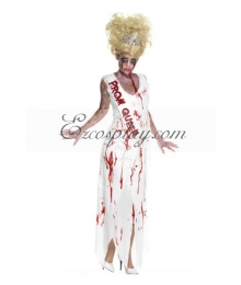 Halloween Prom Queen Cosplay Costume