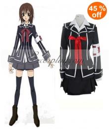 Vampire Knight Kurosu Yuuki Black Cosplay Costume