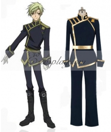 07-Ghost Mikage Barsburg Empire Uniform Cosplay Costume