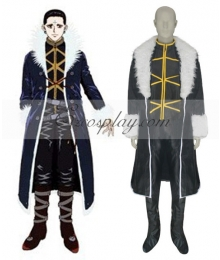 Hunter X Hunter Kuroro Lucifer Cosplay Costume-Size Small