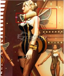 Final Fantasy 7 Remake Honey Bee Inn Dancer Wings Cosplay Accessory Prop