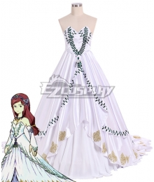 Final Fantasy IX FF9 Garnet til Alexandros princess dress Cosplay Costume - Premium Edition