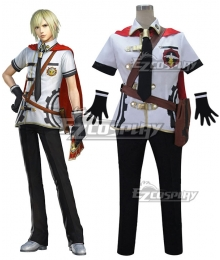 Final Fantasy type-0 Ace Summer Uniform Cosplay Costume