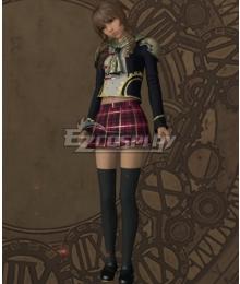 Final Fantasy type-0 Cinque Military Uniform Cosplay Costume