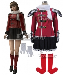 Final Fantasy type-0 Deuce Formal Uniform Cosplay Costume