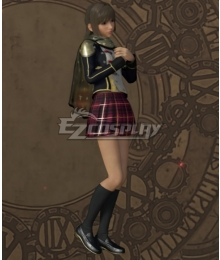 Final Fantasy type-0 Deuce Military Uniform Cosplay Costume