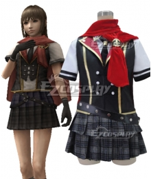 Final Fantasy type-0 Deuce Summer Uniform Cosplay Costume