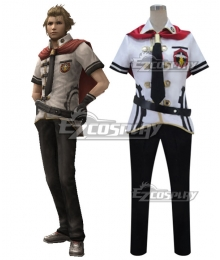 Final Fantasy type-0 Jack Summer Uniform Cosplay Costume