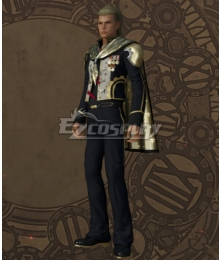 Final Fantasy type-0 King Military Uniform Cosplay Costume