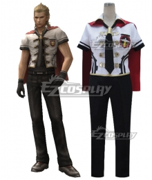 Final Fantasy type-0 King Summer Uniform Cosplay Costume