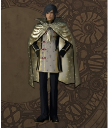 Final Fantasy type-0 Machina Military Uniform Cosplay Costume