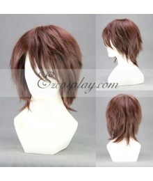 Final Fantasy XIII-2 FF13-2 Noel Kreiss Brown Cosplay Wig-018C
