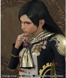 Final Fantasy type-0 Queen Military Uniform Cosplay Costume